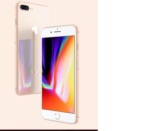 iPhone 8、iPhone 8 Plus仍保留Home鍵和TouchID指紋辨識。圖/摘自蘋果官網
