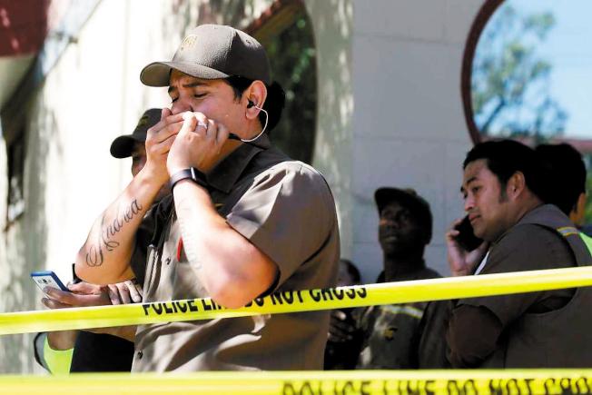 UPS槍擊案被害人家屬和其他員工對UPS和安檢公司提起訴訟。(美聯社)