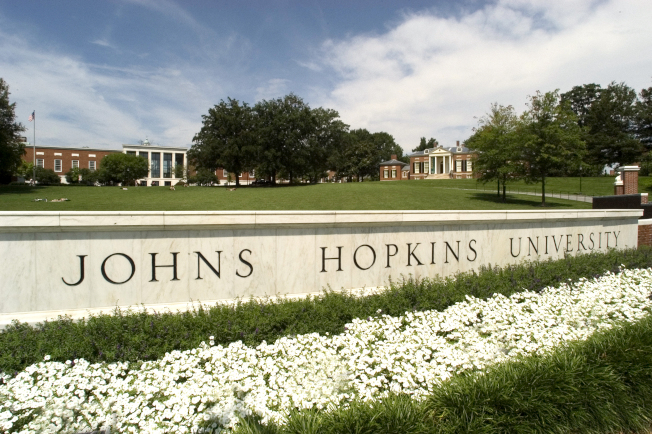 約翰霍普金斯大學是大華府區最優學府。(JHU網站)