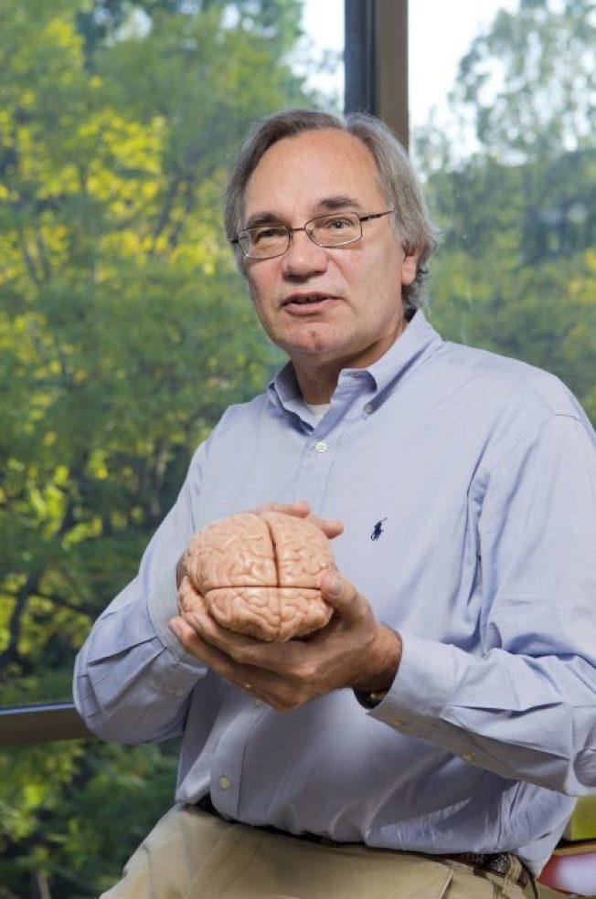 加州理工學院神經科學教授Richard Andersen。(加州理工學院提供)