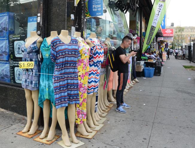 牙買加有眾多小商家。(記者許振輝/攝影)