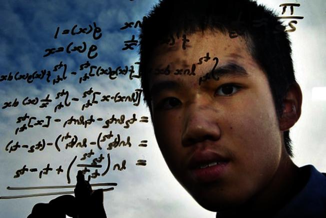 數學神童羅宏博,年僅13歲就攻讀碩士。圖/擷自每日郵報