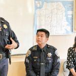 金山肖化警民會議 安撫華人情緒