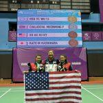「每天在一起」 華裔姊妹世大運羽球奪銅