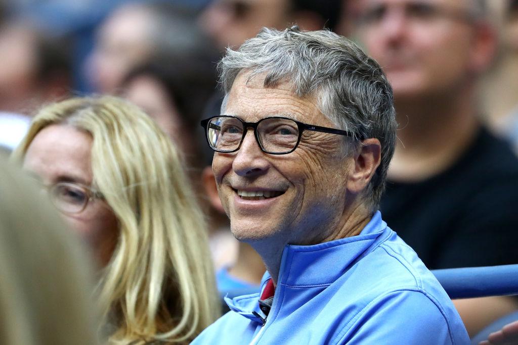 慈善家比爾.蓋茲。(Getty Images)