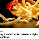 吃薯條會增加死亡風險?研究團隊大拆解