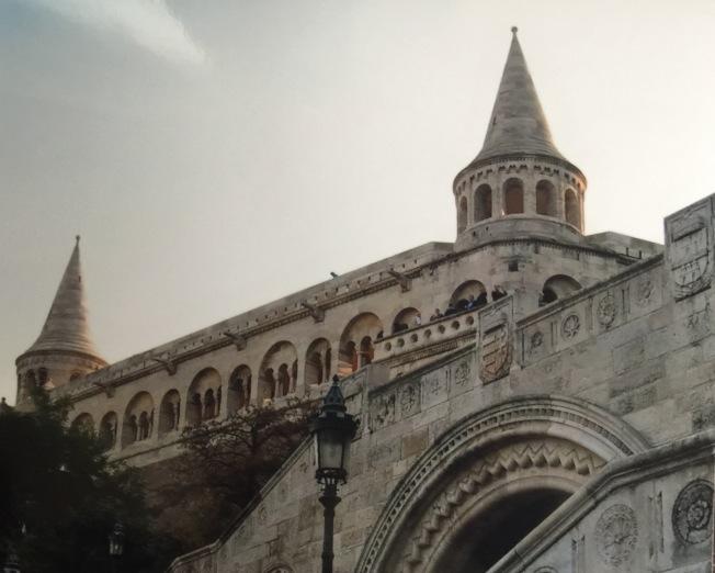 布達佩斯的古蹟漁人堡。