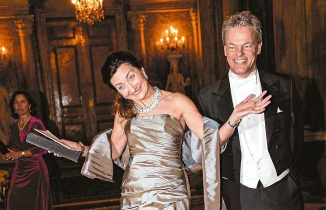 2014年諾貝爾醫學獎得主穆瑟夫婦。(美聯社)