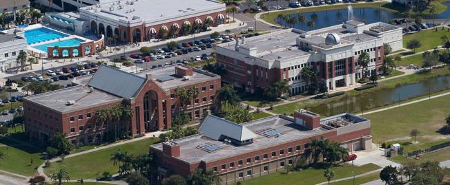 佛州理工學院墨爾本校園一景。(取自佛州理工學院網站)