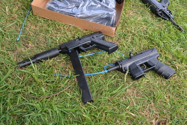 大殺傷力自動武器是槍械回購的重點。(本報檔案照)