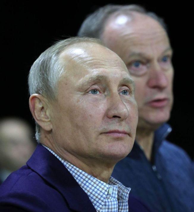 俄國總統普亭7日過65歲生日。(美聯社)