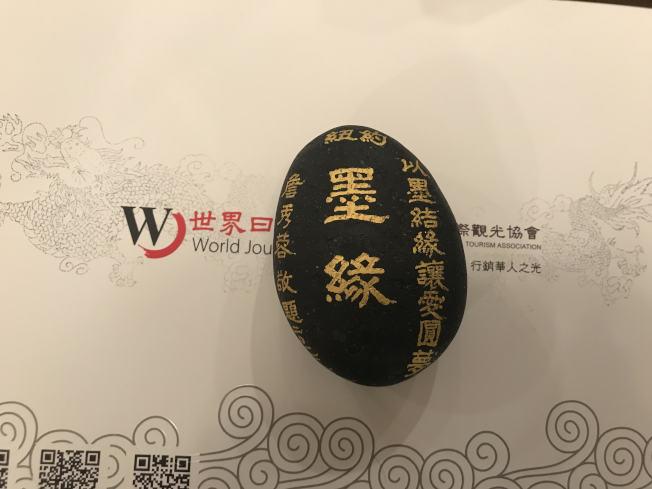 「詹秀蓉墨緣慈善書法展」將於13日開幕。(記者牟蘭/攝影)