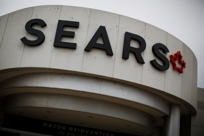 不敵電子商務衝擊,加拿大西爾斯宣布破產。(路透)