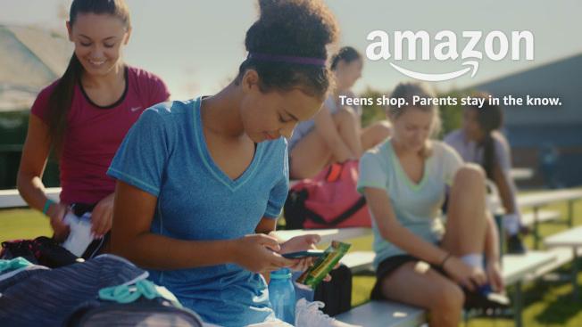 亞馬遜網站瞄準青少年市場,准許青少年在家長監護下,可自行設立帳戶。(亞馬遜網站)