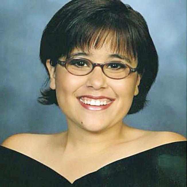 在山火中失聯的聖他羅莎居民克莉絲汀娜.韓森(Christina Hanson)10日已證實身亡。( Brittany Vinculado 提供)