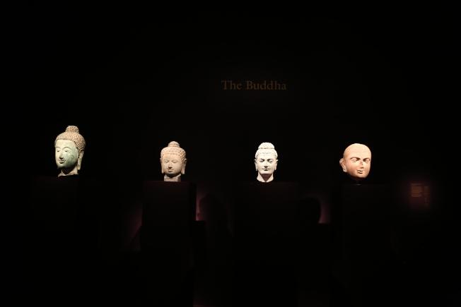 賽克勒館將首次展出亞洲各地的佛像單品。(記者羅曉媛/攝影)