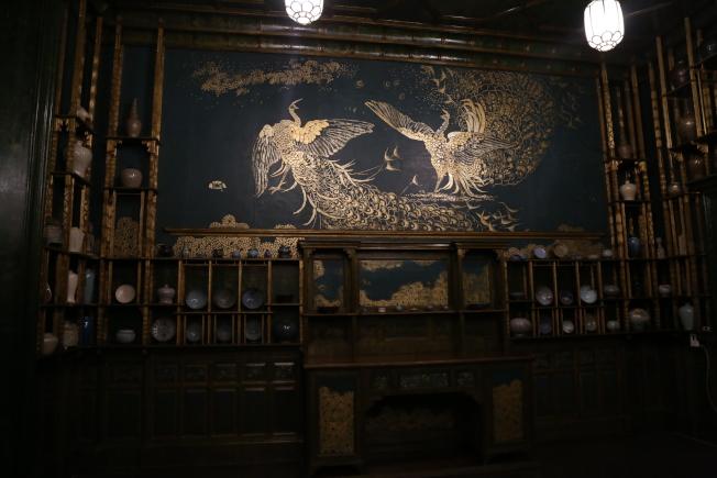 佛利爾美術館最有名的「孔雀廳」也將加入新元素。(記者羅曉媛/攝影)