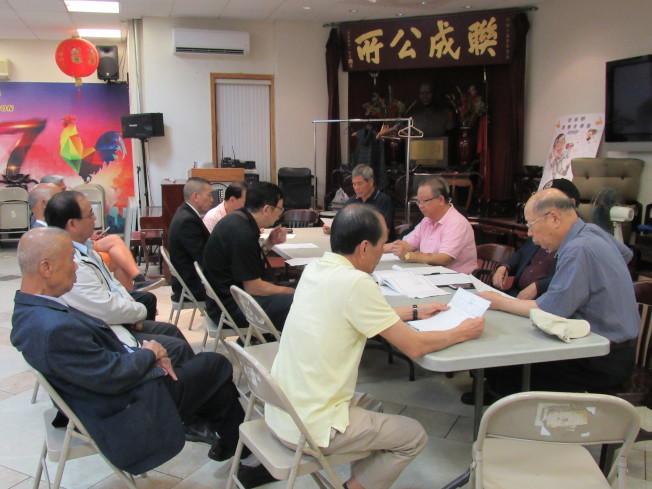 聯成公所核查小組召開第二次會議,同意將雇律師與會計師,希望早日解決近日負面風波。(記者顏嘉瑩/攝影)