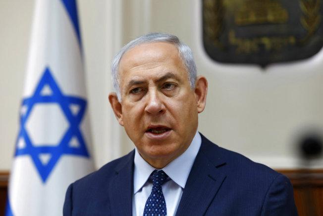 以色列總理內唐亞胡。美聯社