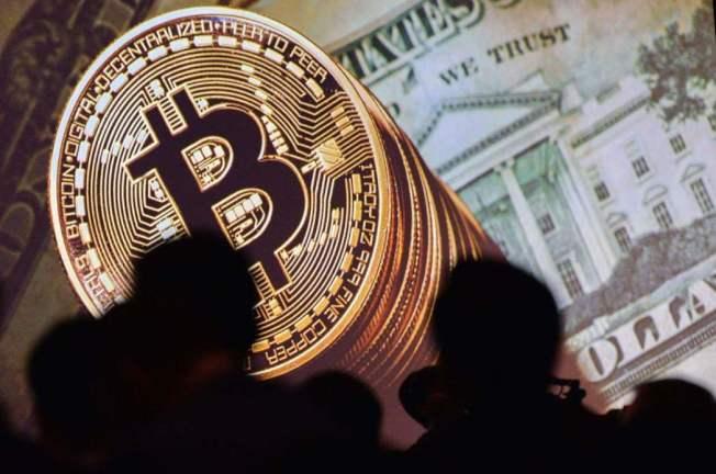 比特幣價格自9月中以來上漲約75%。(法新社)