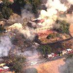 聖荷西山坡住宅三級火 毀二屋
