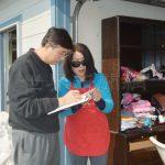 聖他羅莎50戶華人房子被焚 社區團結自救