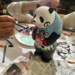 成都贈300熊貓雕塑 金山學童創意彩繪
