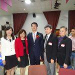 陳家彥出席僑務榮譽職人員授證儀式