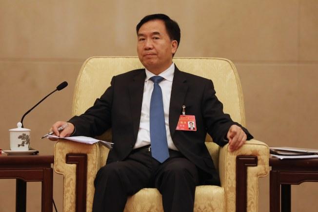 遼寧省委書記李希出進入政治局。(歐新社)
