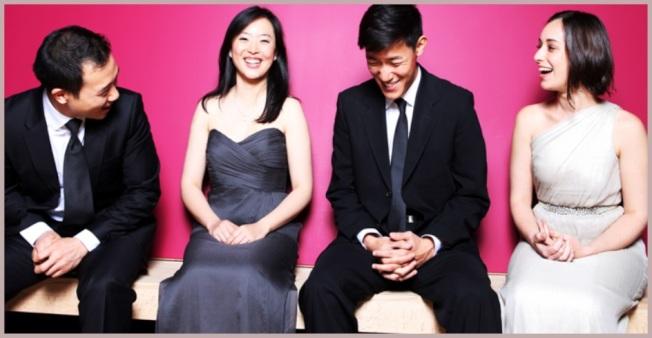 成立於2002年帕克四重奏曾榮獲格萊美獎等多個獎項和榮譽,是當今最卓越的演奏團體之一。(中華表演藝基金會提供)