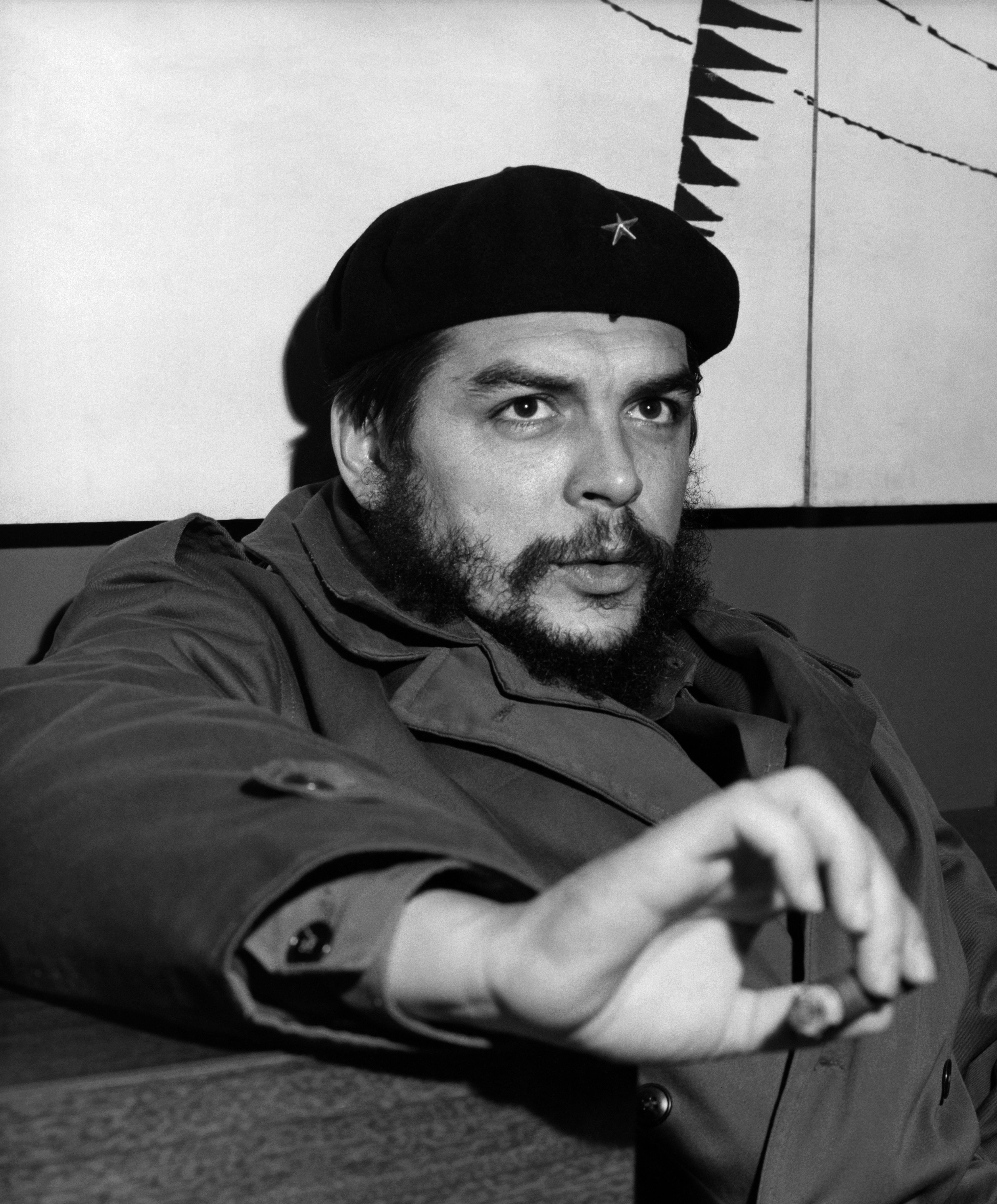 古巴革命領導人切‧格瓦拉。(GettyImages)