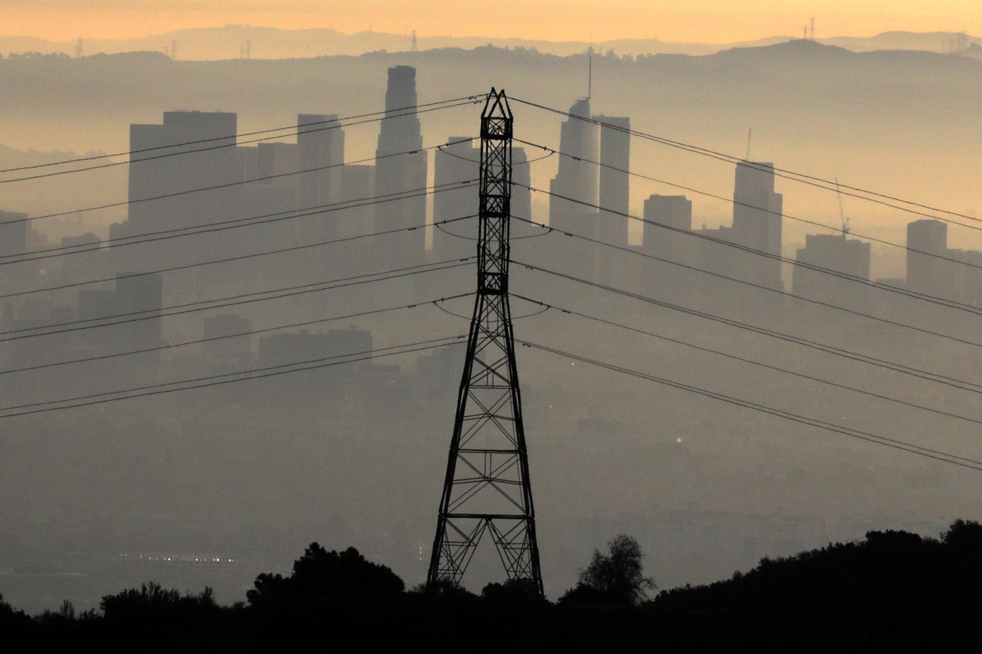 遠眺洛杉磯市。(路透)