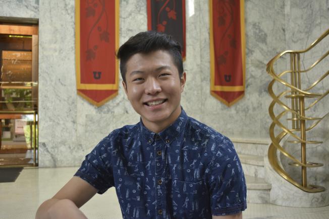 猶他大學中國留學生郭宸瑋在校園中被槍擊身亡。(美聯社)