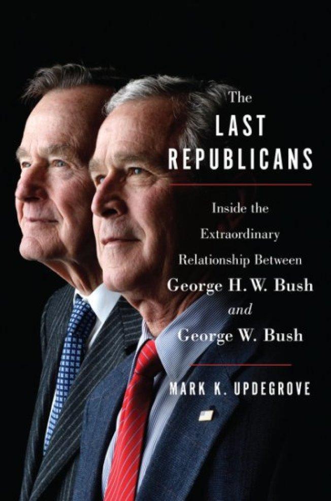 兩位布希總統的新書「最後的共和黨人」。(Harper Collins)