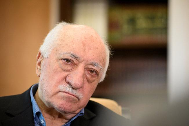目前避居美國的土耳其教士葛蘭,被土耳其總統厄多安視為頭號政敵。(路透)