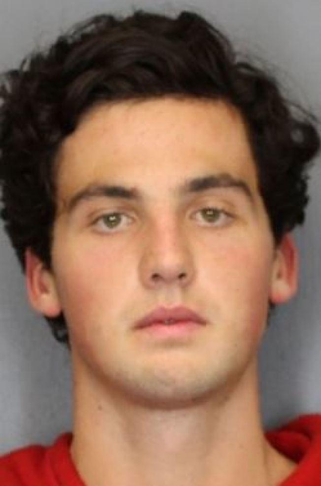 康乃爾大學學生格林伍德,因辱罵和攻擊非裔,被控仇恨犯罪。(警方提供)
