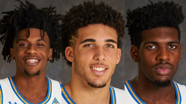 圖說:洛杉磯加大三名在中國涉入扒竊的學生籃球員。(網路圖片)