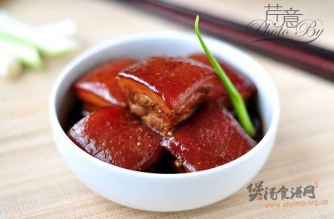 東坡肉在中國八大菜系熱門榜單中位列第二。(取材自煲湯食譜網)