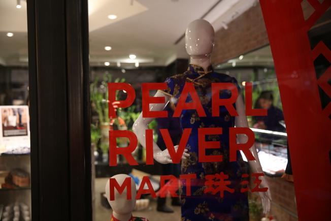 珠江百貨在雀兒喜市場再開分店。(記者洪群超/攝影)