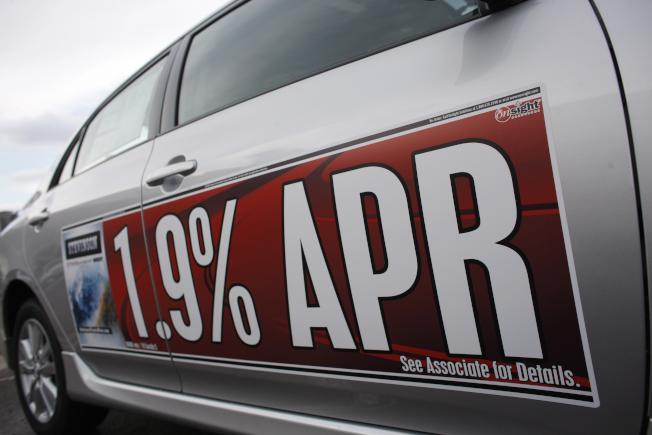 愈來愈多美國人無力支付汽車貸款,面臨汽車被收回的危險。(美聯社)