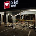 疑酒駕撞毀餐館 女大生拒捕