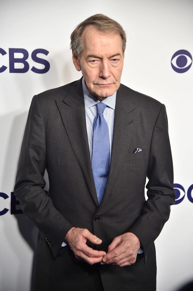 CBS電視網宣布開除主播查理‧羅斯。(Getty Images)