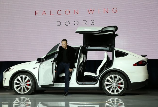 Model X:擁抱創新設計和最先進科技的難題(圖/網照)