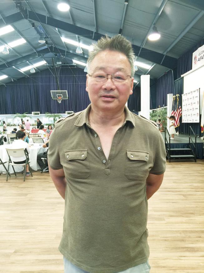楊海平表示,回答海關問話都要很小心。(記者劉先進/攝影)