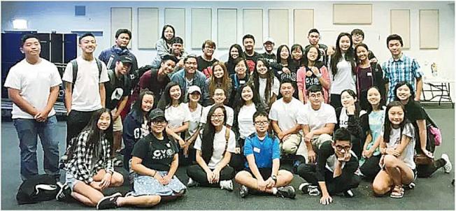 參加青年峰會的學員們。(徐驊婧提供)