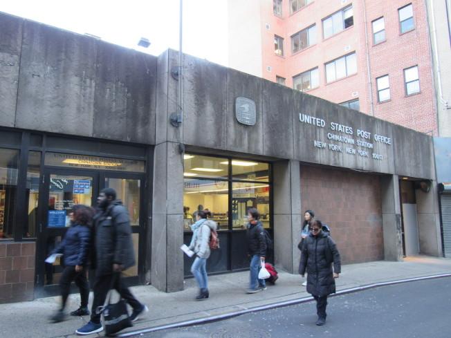 維樂貴絲29日在國會提案,要將宰也街的郵局命名為「李美步紀念郵局」。(記者顏嘉瑩/攝影)