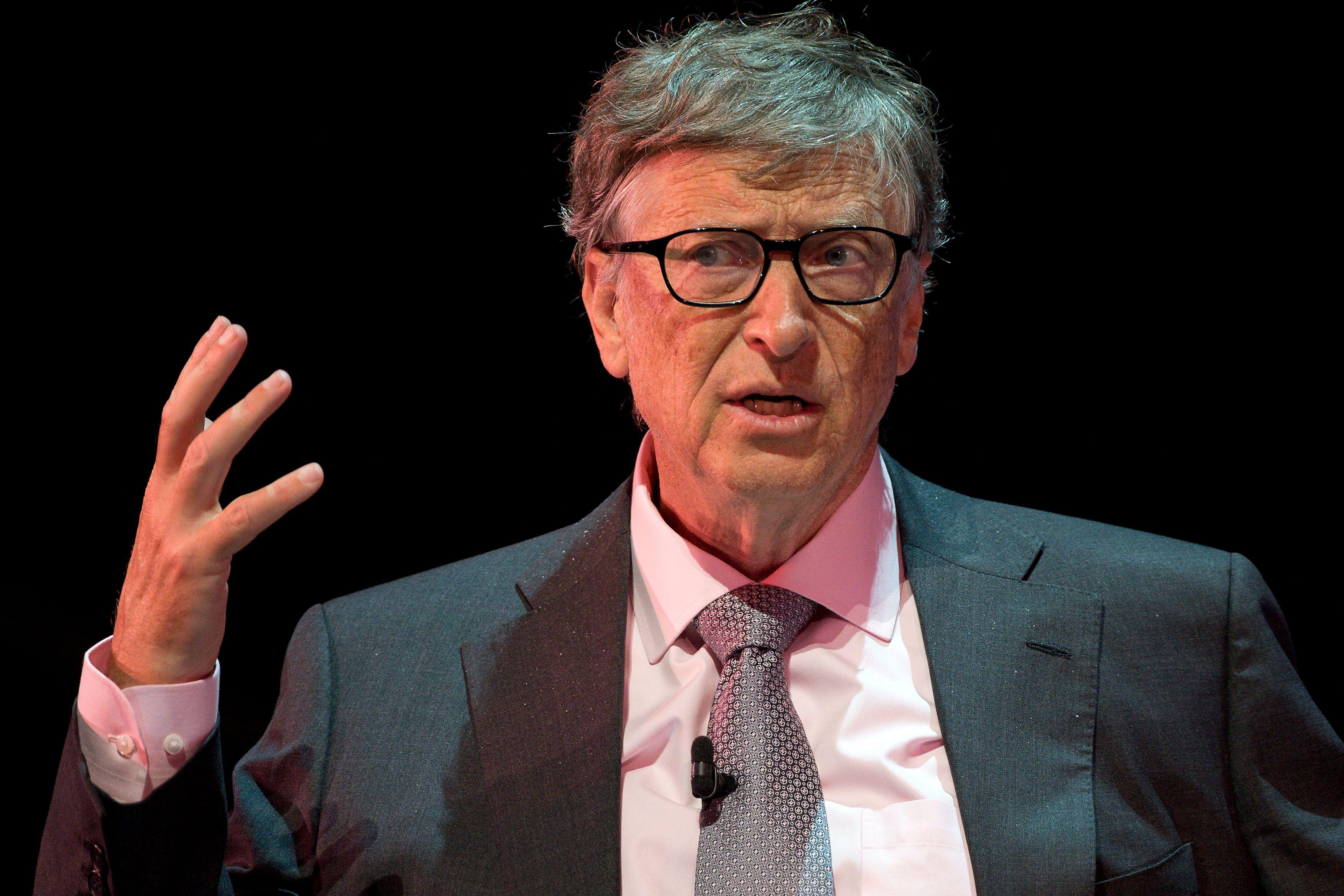 微軟創辦人蓋茲。Getty Images