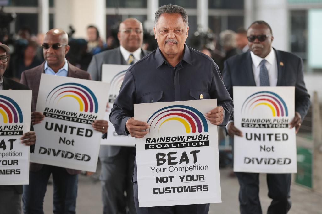 知名黑人民權律師、牧師傑西‧傑克森(Rev. Jesse Jackson)被診斷出帕金森氏症。(Getty Images)