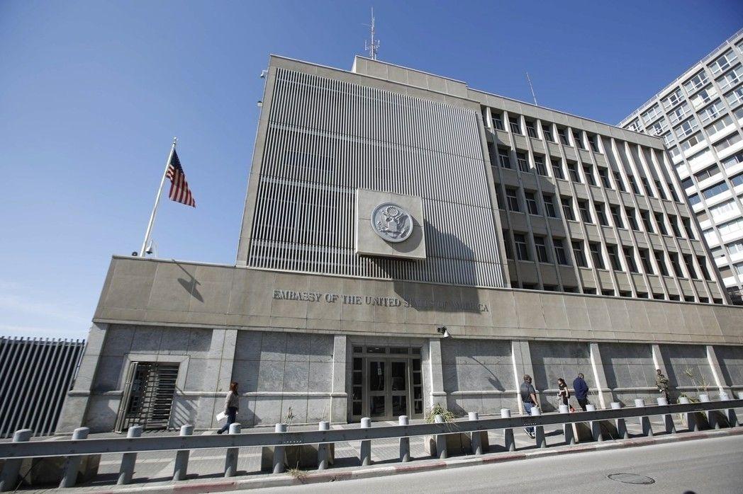 美國駐以色列大使館目前設在特拉維夫。 歐新社