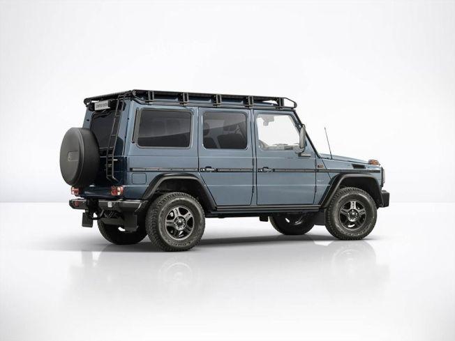 G350d Professional Limited Edition車款搭配了China Blue藍色車色。(Mercedes-Benz提供)
